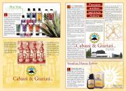 Brochure di prodotti naturali