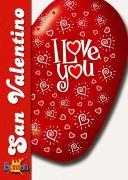 Copertina di un catalogo di prodotti per San Valentino