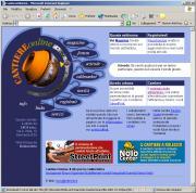 Sito web cantiere on line, con animazioni.
